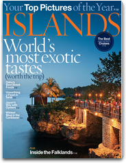 ISLANDS Magazine Food Special Issue on the iPad