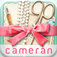 cameran collage-可愛い切り抜きコラージュで写真を簡単無料加工する女子アプリ!!おしゃれな画像レイアウト&スタンプ&フレーム&正方形編集&文字入れ